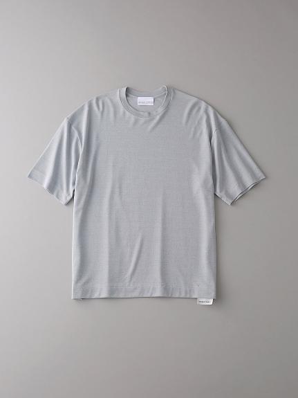 ドロップショルダー クルーネックTシャツ【メンズ】(LGRY-0)