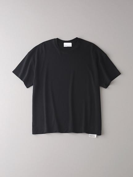 ドロップショルダー クルーネックTシャツ【メンズ】(BLK-0)