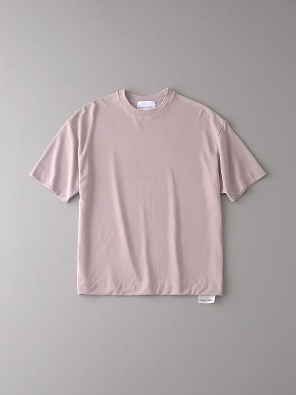 ボタニカル ドロップショルダークルーネックTシャツ【メンズ】