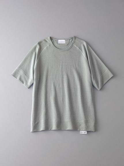 ボタニカル インレイ クルーネックスウェットTシャツ【メンズ】