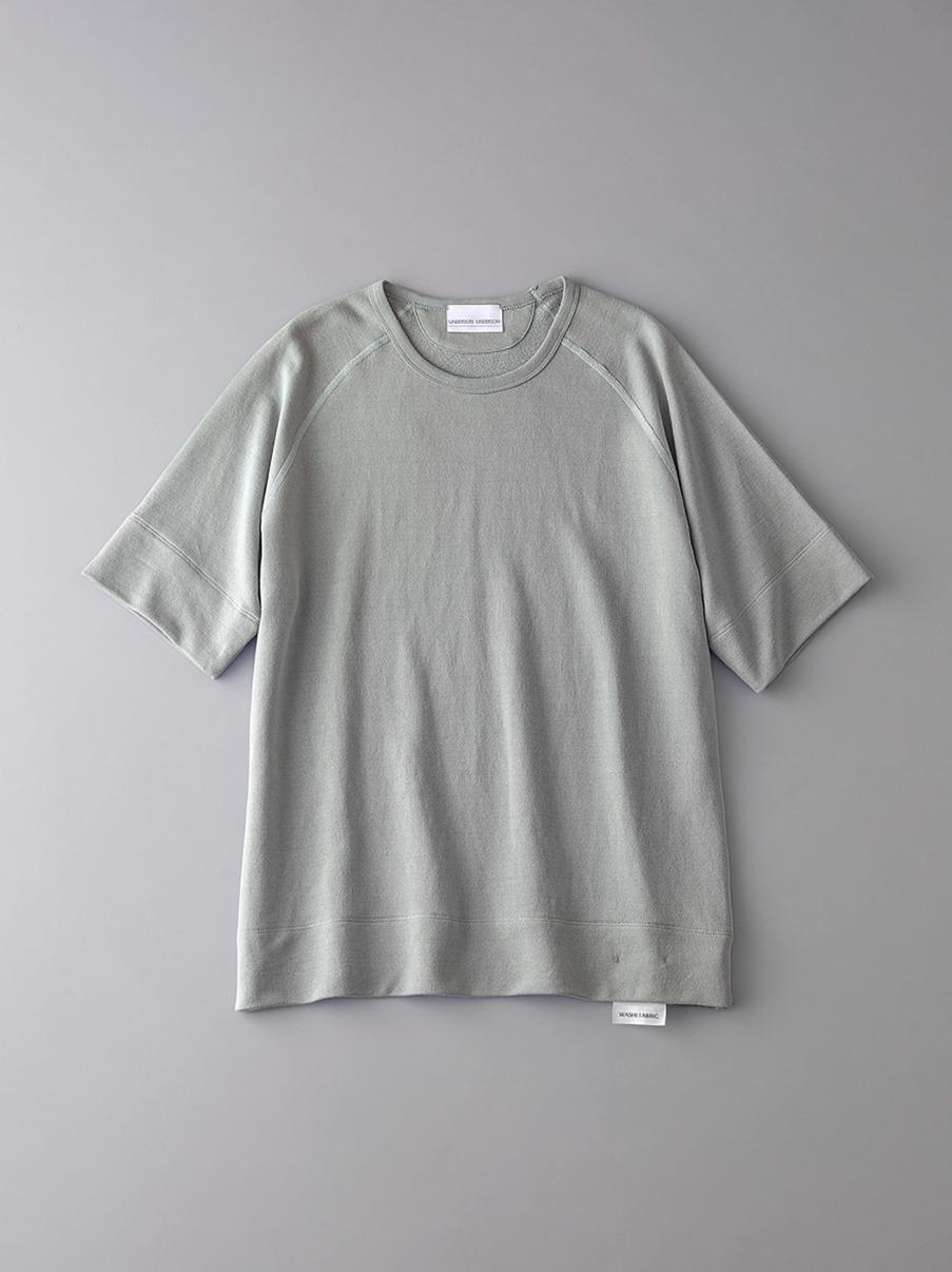 ボタニカル インレイ クルーネックスウェットTシャツ【メンズ】(KKI-0)