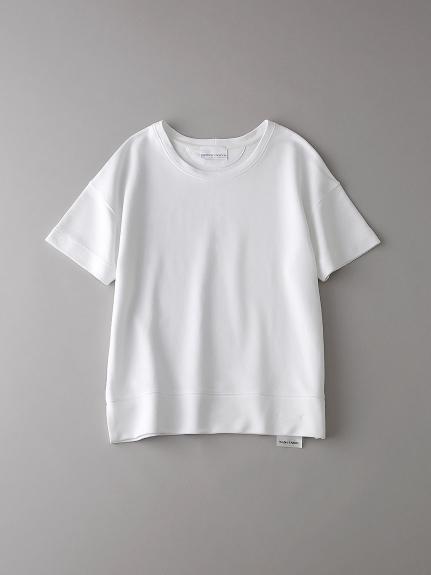 インレイ クルーネックスウェットTシャツ【ウィメンズ】(WHT-0)