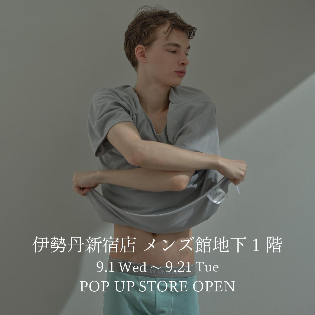 伊勢丹新宿店POP-UP STORE OPEN